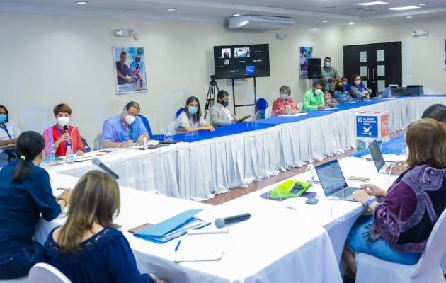 Junta Directiva de la Senniaf en sesión permanente. Foto:Mides