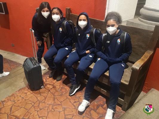 Jugadoras de la selección ya se encuentran en el hotel de concentración en Guatemala. Foto: @fepafut