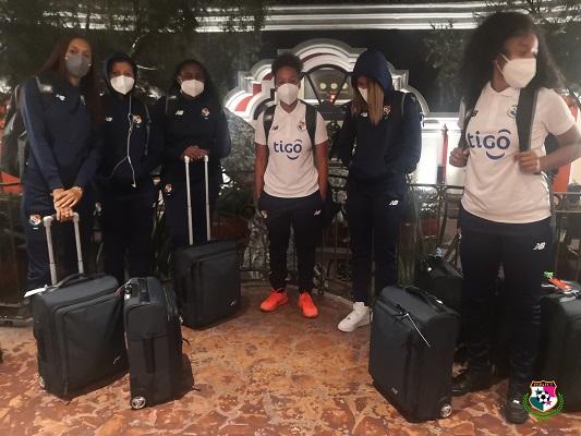 Jugadoras de la selección femenina. Foto: @fepafut