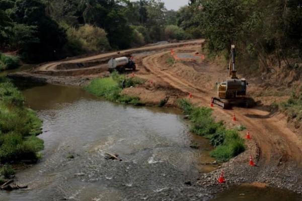 El Ingeniero Rafael Díaz, Coordinador General del Programa Saneamiento de Panamá, resaltó que durante el recorrido que realizó  las obras ejecutadas por el Contratista M2 Consorcio, certificó que el mismo se encuentra en su etapa próxima a culminar.