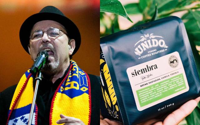 Rubén Blades asegura que el café es 100% panameño. Foto: Archivo / Instagram