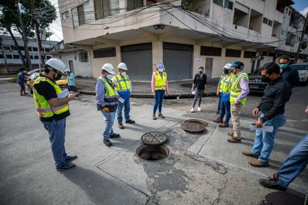 El Ingeniero Rafael Díaz, coordinador general del Programa Saneamiento de Panamá, destacó que recientemente se llevó a cabo una visita de campo a las áreas que se contemplan para las mejoras del Sistema de Alcantarillado Sanitario.