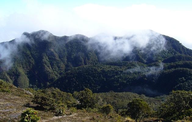 La última erupción del volcán Barú fue en 1550.