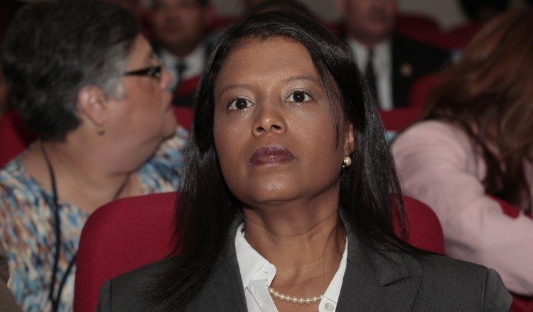 Zuleyka Moore, fiscal anticorrupción del Ministerio Público. Archivo