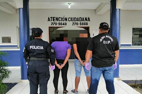 La Policía Nacional logró la detención de los vinculados gracias a la descripción que aportó la víctima.