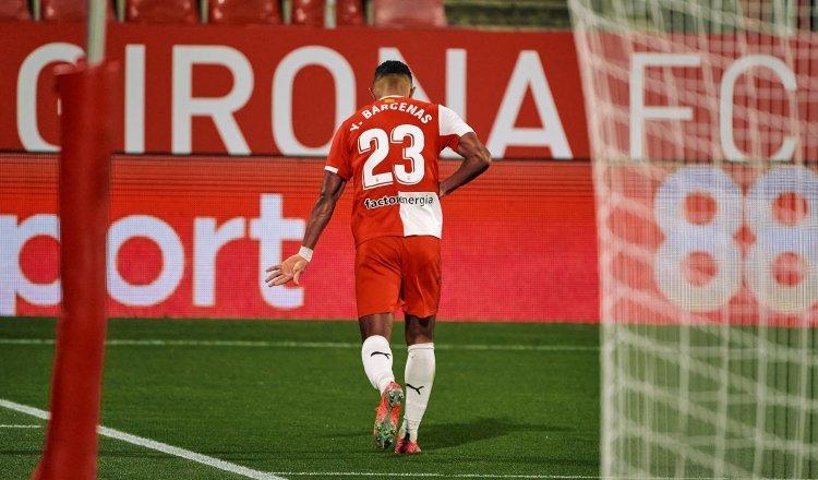 Yoel Bárcenas anotó su segundo gol con el uniforme del Girona. Cortesía