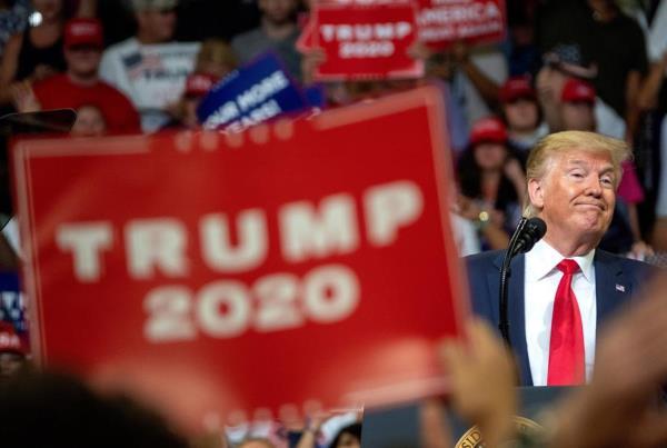 Donald Trump, expresidente de Estados Unidos. EFE