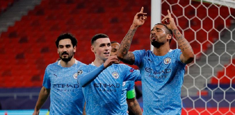 Manchester City fue claro dominador del partido. Foto @ManCity