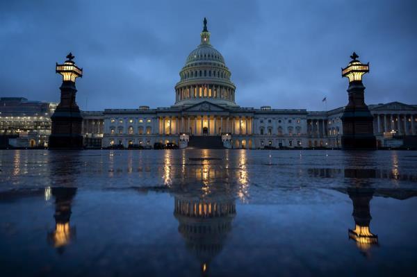 Capitolio, sede del Congreso de EE.UU., en Washington. EFE