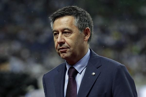 José María Bartomeu, expresidente del FC Barcelona. Foto: EFE