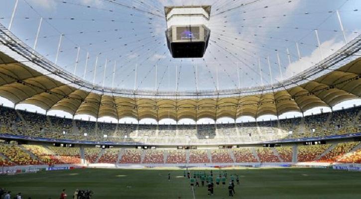 Estadio Nacional de Bucarest de Rumania. Foto: EFE