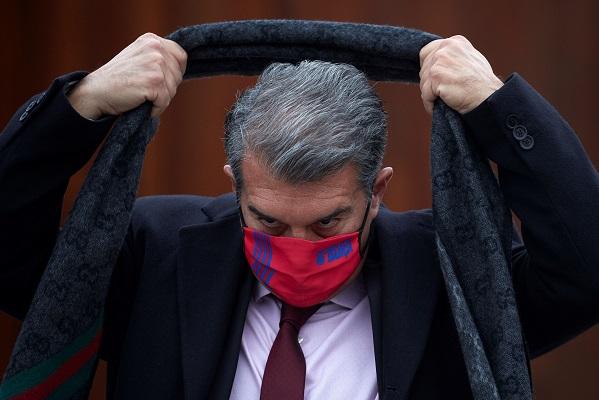 Joan Laporta, candidato a la presidencia del FC Barcelona. Foto: EFE