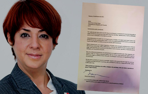 Mayra Inés Silvera presentó su renuncia al cargo como directora de la Senniaf el pasado 25 de febrero. Foto: Cortesía