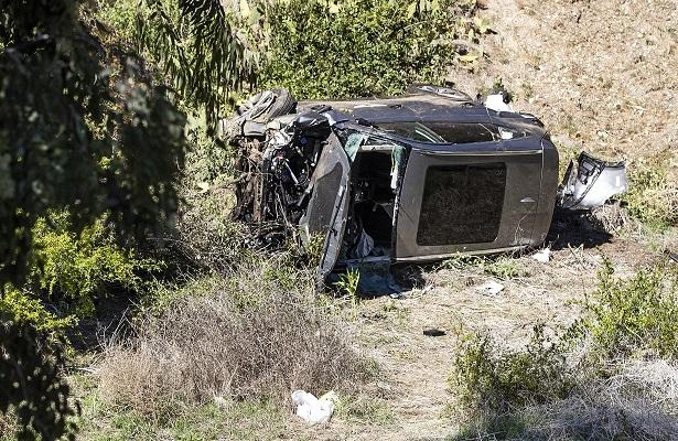 El golfista estadounidense sufrió el accidente el pasado 23 de febrero. Foto: EFE