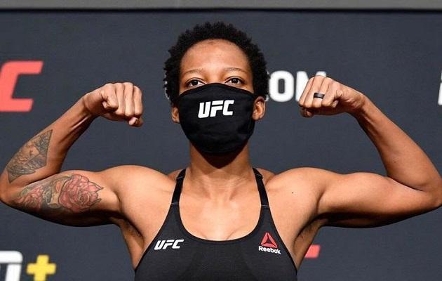 Joselyne Edwards es la primera panameña en combatir en UFC.