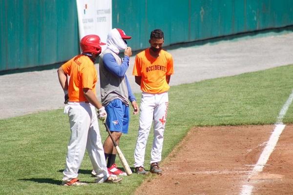 Chiriquí Occidente durante entrenamientos. Foto: Fedebeis