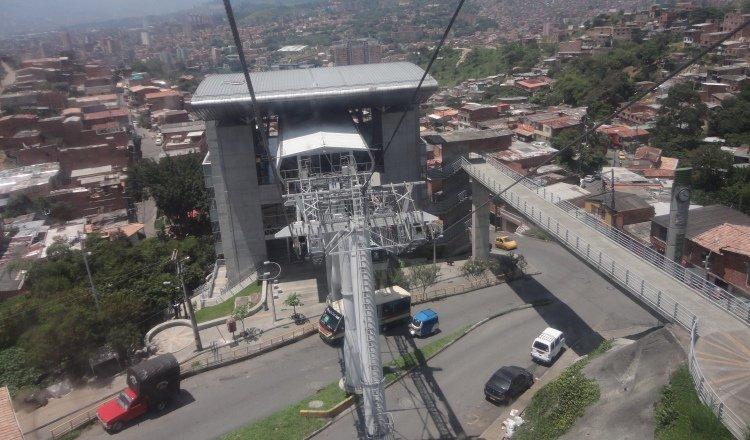 Esta obra contará con nueve estaciones, como la que se observa en la foto que es de Medellín. Archivo