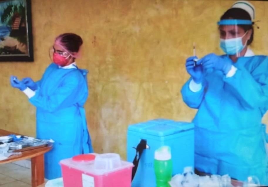 Las nuevas dosis de vacunas corresponden a la Fase 1 que se adelanta en esta región del país. Foto: Thays Domínguez