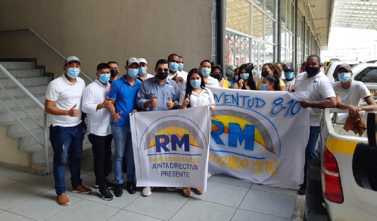 Miembros de Realizando Metas. Foto: Víctor Arosemena