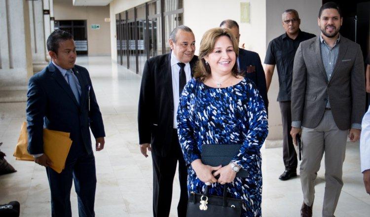 Kenia Porcell, exprocuradora general de la Nación, durante el Gobierno de Juan Carlos Varela.