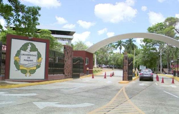 Campus de la Universidad de Panamá.