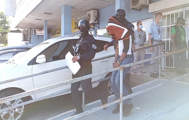 Los cinco implicados fueron capturados el pasado 11 de marzo, en el sector de Peña Blanca, corregimiento de Playa Leona. Foto:Eric Montenegro