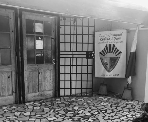 Oficina de la Junta Comunal del corregimiento Rufina Alfaro, distrito de San Miguelito. Foto: Google Maps.