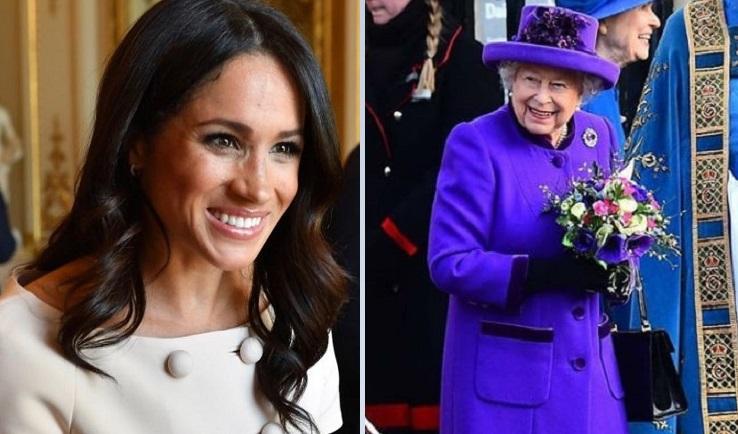 Meghan e Isabel II. Instagram