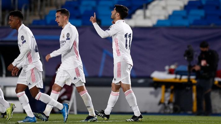 Marco Asencio sentenció la serie con un tercer gol. Foto: Twitter