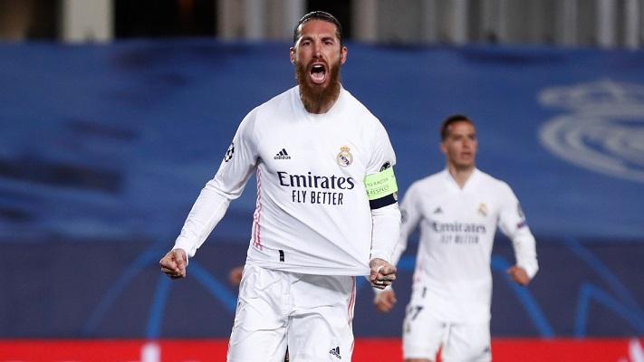 Sergio Ramos marcó el segundo de penal. Foto: Twitter