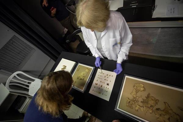 El manuscrito fue recuperados en una cueva de Cisjordania.