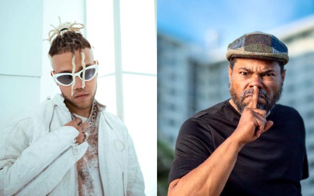 Jhay Cortez y 'El Chombo'. Fotos: Instagram