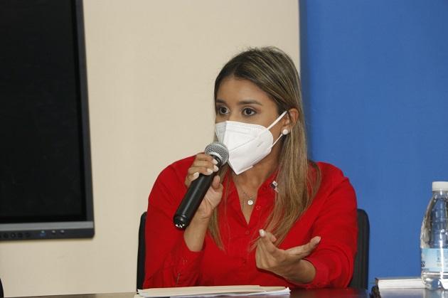 Daniela Martínez López es la viceministra del Miviot. Foto cortesía Miviot