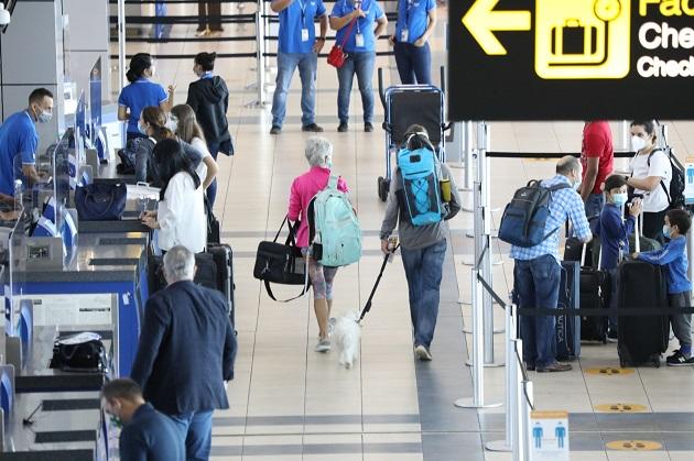 Del total de viajeros, 58.4% fueron visitantes y 41.6% residentes. Foto/Cortesía