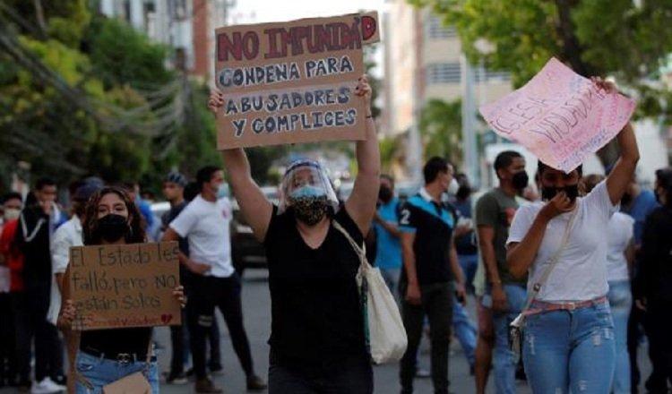 Protestas en la ciudad capital y otros puntos no se han hecho esperar desde el día que se conoció sobre los supuestos abusos en albergues. Archivo.