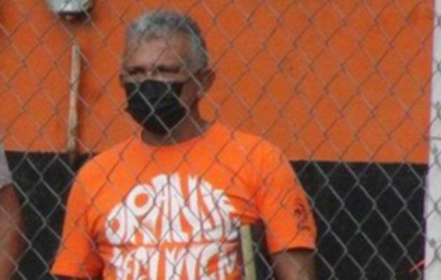 Luis Durán violó el protocolo de bioseguridad.