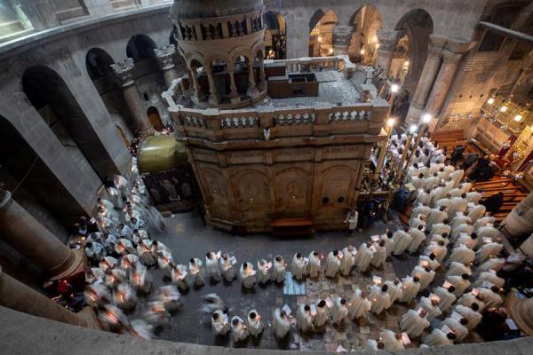 La jornada de hoy marca el inicio del Triduo Pascual -jueves, viernes y sábado santo. EFE