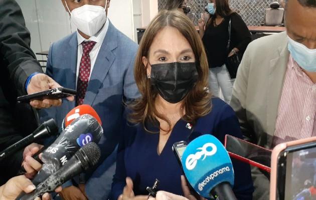 Gorday de Villalobos dijo que se está trabajando con los docentes, que de manera personal decidieron asistir a las escuelas.