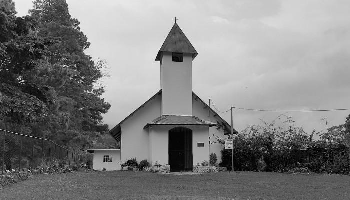 Capilla de Alto Lino, construida en 1907, primera iglesia en la antigua cabecera distrital. Foto: Cortesía del autor.