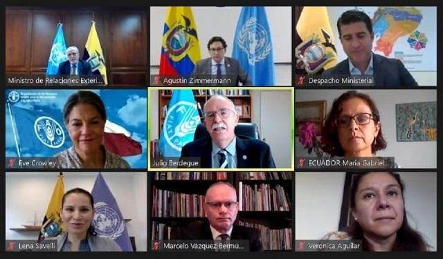 Ecuador buscó ser la sede de la conferencia. Foto: Cortesía
