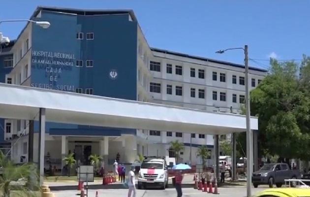 La joven que hizo la denuncia estaba internada en el hospital regional Rafael Hernández de David. Foto: Mayra Madrid