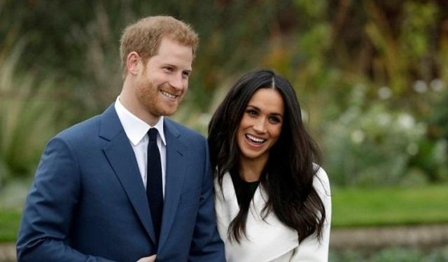 Príncipe Harry y Meghan Markle. Archivo