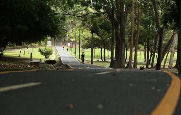 La exdiputada Mery Alfaro se encontraba en el Parque Omar.
