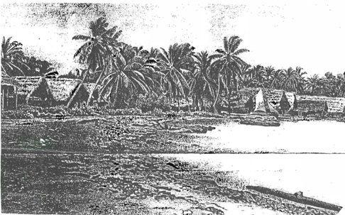 Poblado de Chachardi donde el cacique Inanaginya vivió en la década de 1860. Foto: Cortesía del autor.