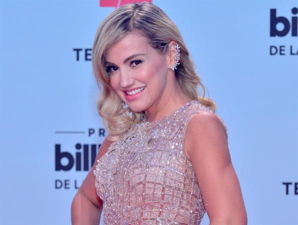 La cantante, actriz y modelo colombiana Fanny Lu.