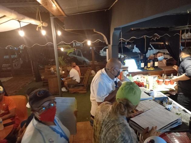 Uno de los locales operaba como restaurante, cuando realmente era un bar. Fot: José Vásquez