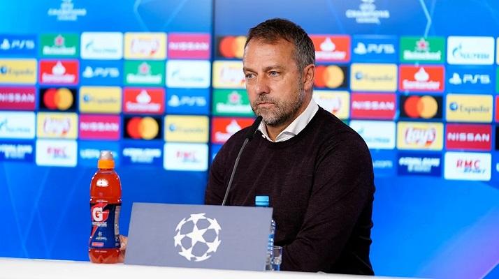Hans-Dieter Flick, técnico del Bayern Munich. Foto: Twitter