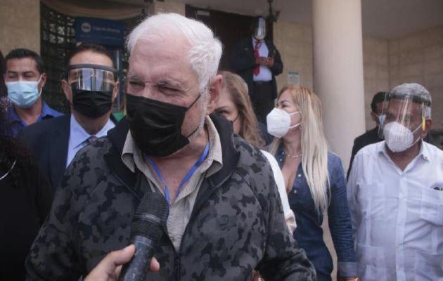 El expresidente Ricardo Martinelli aspira a ser candidato presidencial en el 2024.