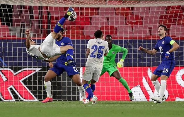 Mehdi Taremi, delantero iraní del Porto, marcó un golazo al final de partido. Foto: Twitter