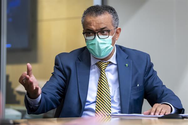 Tedros Adhanom Ghebreyesus, director general de la Organización Mundial de la Salud (OMS). EFE